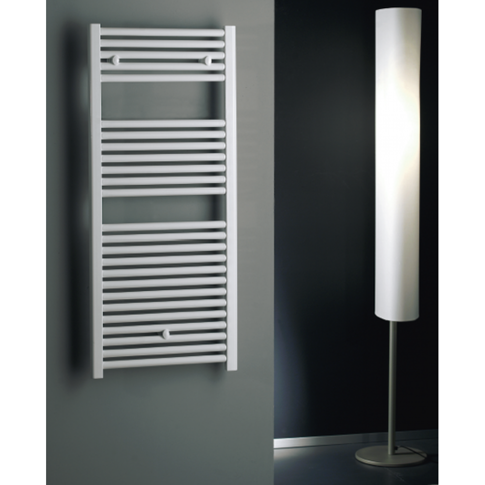 Lazzarini white towel radiator 1230x400