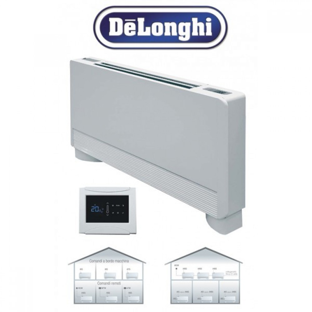 Delonghi i-Life Slim 302 2.7kw cooling -3,3/7,1kw heating - Fancoil Unit (mod:270)