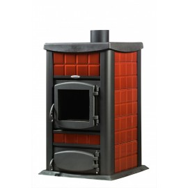Laminox Italia 30 - Water Wood stove 30kw - 82% efficiency