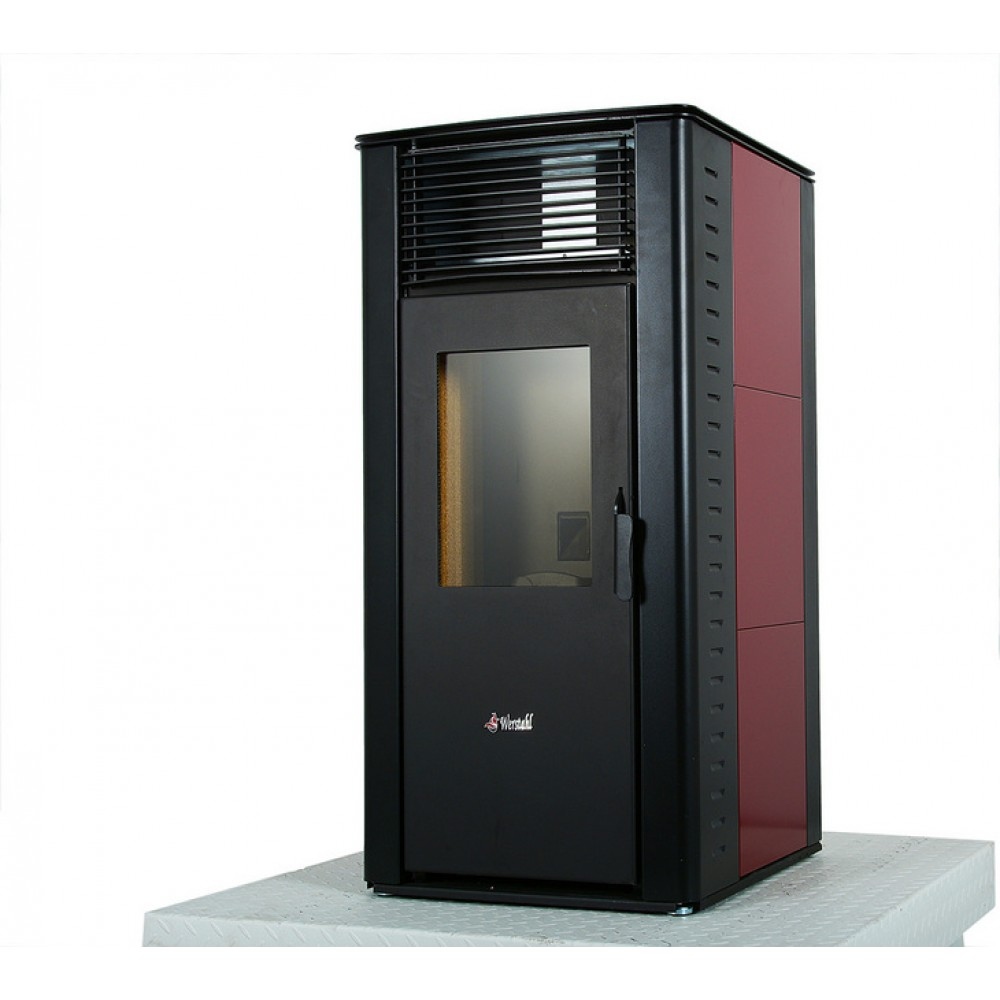 AIr pellet stove - Werstahl Zeus ZS16 - 14kw - 89% efficiency