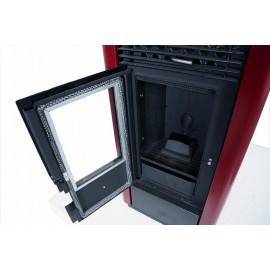 AIr pellet stove - Werstahl Zeus ZS12 - 12kw - 89% efficiency