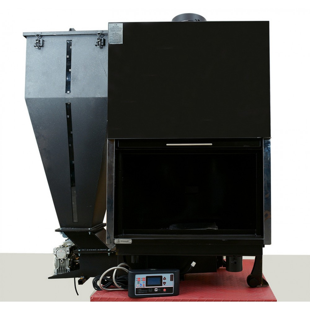 Biomass boiler fireplace Werstahl Bio-Hydro 40 (40kw - 34.400kcal)